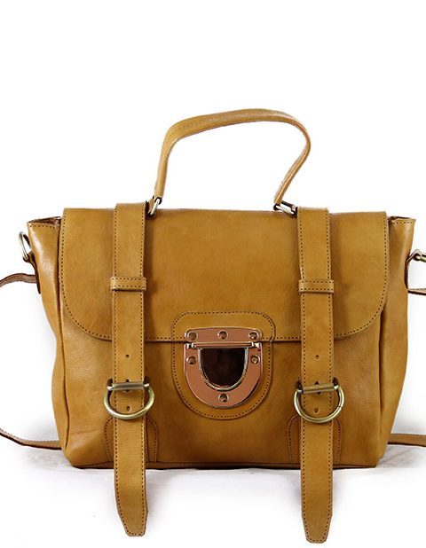 The Mini Backpack Honey Brown
