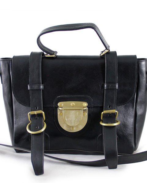 The Mini Backpack Black