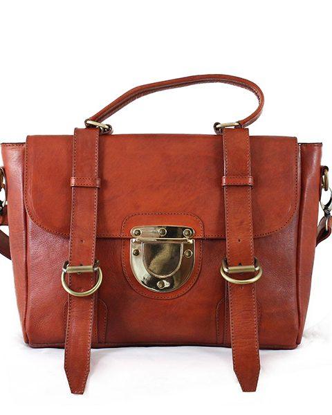 The Mini Backpack Vintage Brown