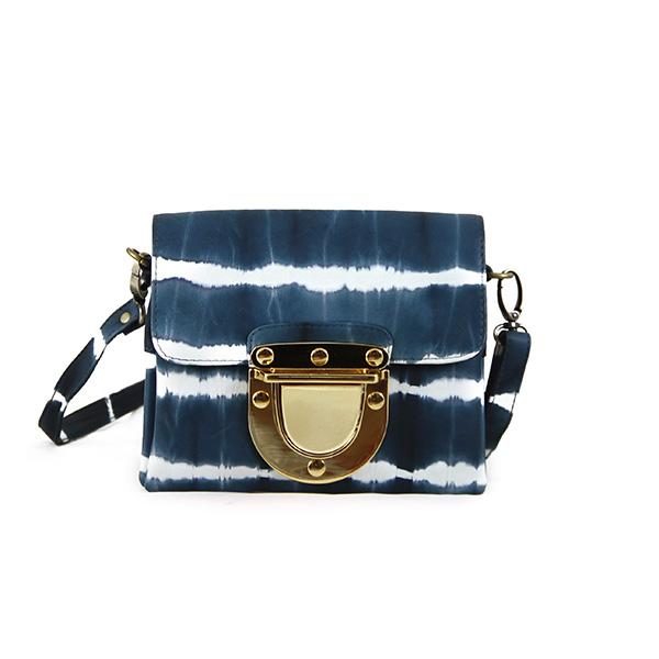 Marlenne Mini Tie-Dye Blue