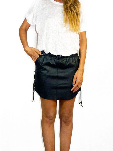 Erin Laced Mini Skirt Black