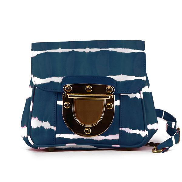 Portobello Mini Tie-Dye Blue