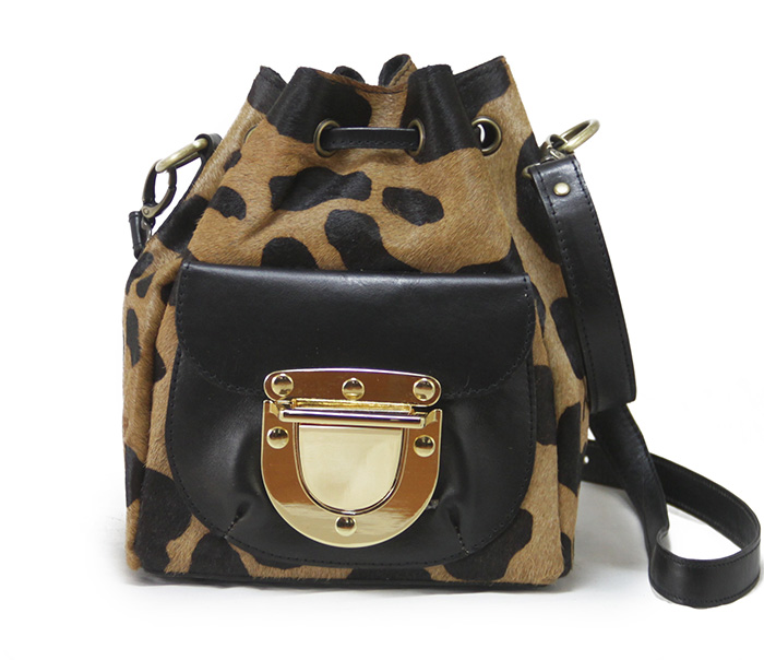 West Village Mini Leo - Black
