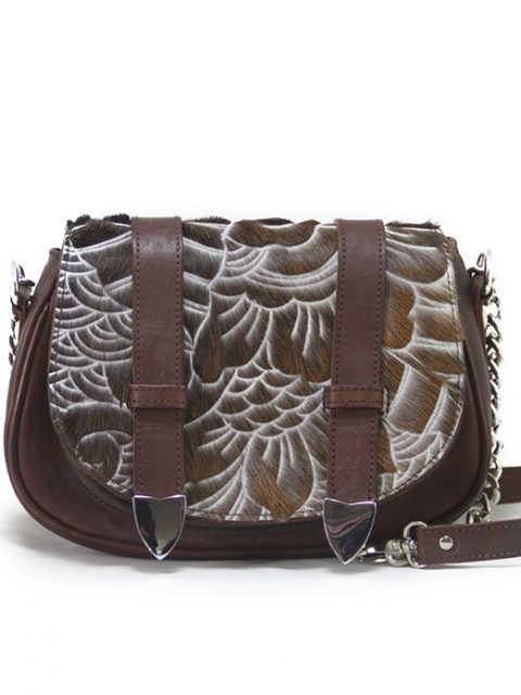 Tasha Mini Carved Brown